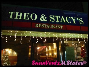 Downtown dates: Theo & Stacy's